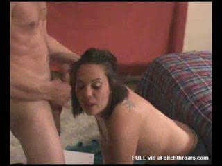 Amateur milf suffers anaal torment