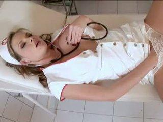 বিদ্বেষপূর্ণ সেবিকা tarra সাদা acquires তিনি স্বয়ং কামাসক্ত ভেতরের ঐ clinic