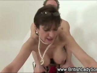 british, blowjob, mature