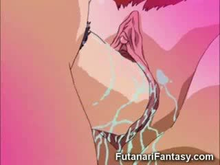 Manga tgirl Threesome!