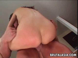 Thai Nymph Katsuni Acquires A Oustanding Bat In Her Booty Tunnel