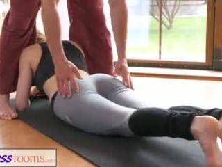 geschiktheid, romantisch, yoga pants