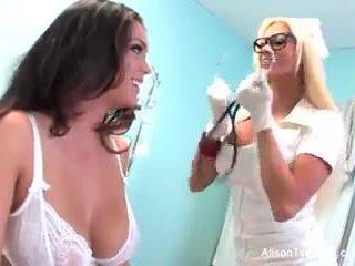 운명의 간호사 nikita tries 에 치유 alison