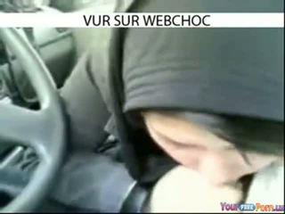 Arab Hijab Girl Sucking Dick In Car In Car