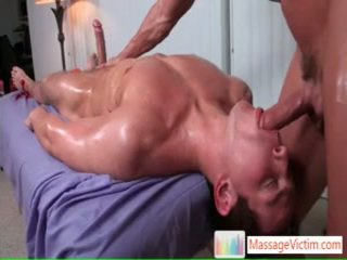 Dylan Gets Oiled And Prepped For Massage