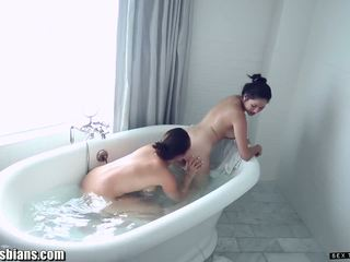 SexTapeLesbians EXCLUSIVE POV Tribbing and Pussy Eating FULL SCENE
