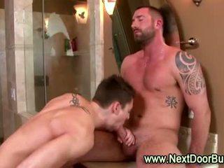 Muscle jocks cock suck cumshots