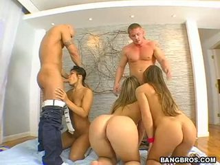 Large Booty Honeys Alexis Texas And Friends Sucking Large Hard Poles