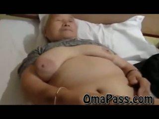 جدا قديم دهن japanes جدة سخيف هكذا شاق مع واحد رجل فيديو