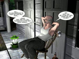 ji-vyras, karikatūros, 3d comics