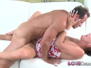 Love Creampie Hot mom gets the fuck of her life and multiple