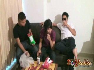 Thai Guys In Wild Xxx Party