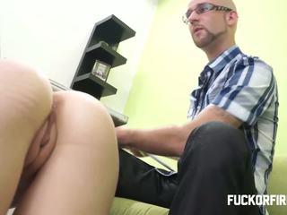 Fucking two horny sluts in my office