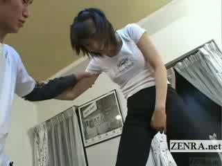 Subtitled japānieši ballet guļamistaba stretching priekšspēle
