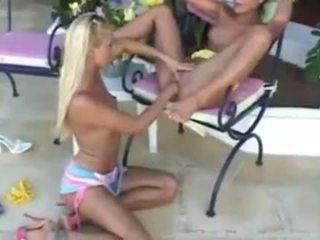 pidhi shuplaka, lesbians, vajzë në vajzë
