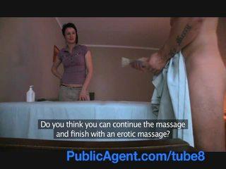Publicagent jāšanās the masseur mammīte