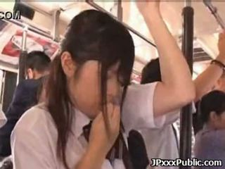 Sexy japanese teens fuck in public places 34
