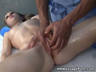 Massage ending in squirt