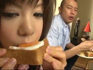 Shino nakamura - japorno depilada jovem grávida ejaculação interna