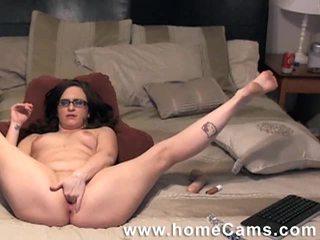 brunete, webcam, voyeur