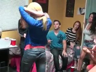 College sex party with striptease and nasty sex