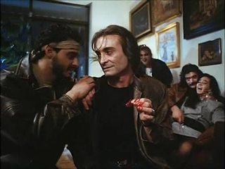 La noche del ejecutor (1992) spanska birthday: hustru & dotter körd & spoiled