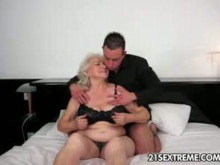 gjyshe, blowjob, tits e madhe