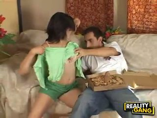 Titi hungry adrianna faust feeds kanya mouth may a juice mahirap meatpole