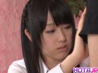 Machiko ono gets foutre après amende pipe