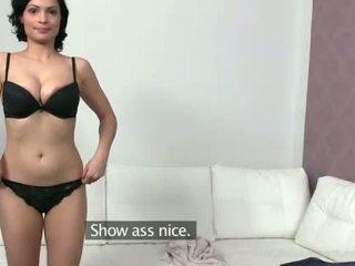 Kỳ lạ sylva enjoys đầu tiên khiêu dâm tryout