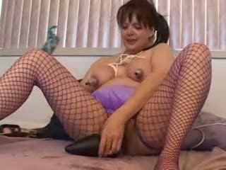 Mega plug reet anaal verzakking vet tepels vet rondborstig diep binnenin uit