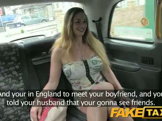 Hungarian with hot body and susu - fake taxi