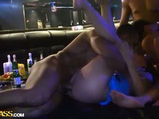 طالب حزب مجموعة جنس في ال شريط فيديو