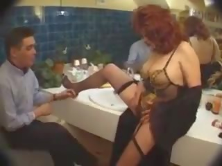 Orang peranchis salope: percuma pesta seks berkumpulan lucah video af