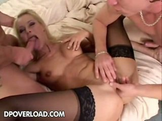double penetration, group sex, pussy licking