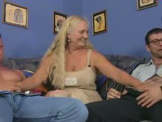 cumshots, gruppen-sex, grannies