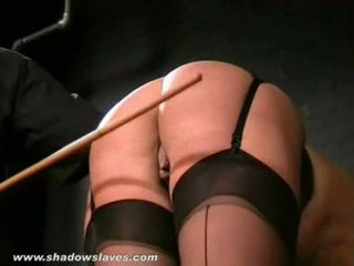 English caning and spanking of bruised...