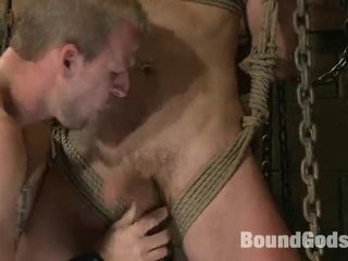 Guy Villeind In Dungeon And Fucked
