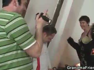 Zij film trio met oma