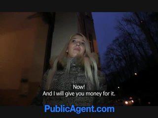 Avalik agent fucks blond lits dominica