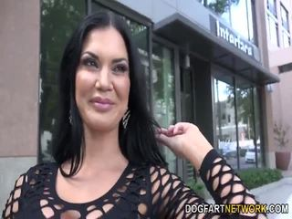 big tits, interracial, pornstar