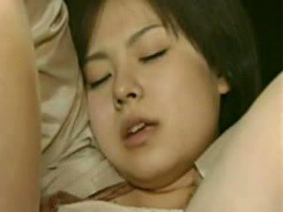 Mãe e filha going trough horror - louca japonesa merda vídeo