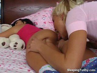lesbiete, xvideos, sleeping