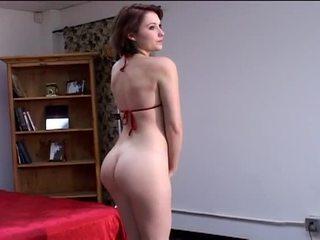 bruneta, velká prsa, krása