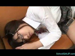 Schoolgirl in swimming dress licked by her teacher in teh lo