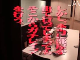 japonais, sexe de groupe, gangbang