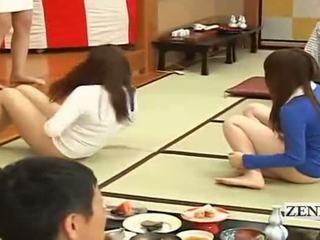 Subtitled bottomless יפני embarrassing קבוצה משחק מקדים