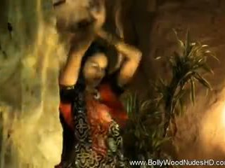 Dancing Beauty From Bollywood India