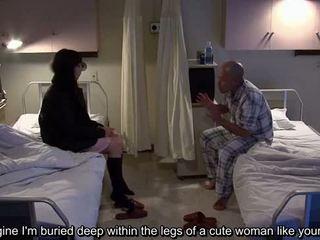 Subtitled uncensored غريب مستشفى اليابانية وظيفة اليد