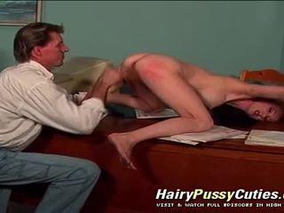 Anál vaginal & hlboké fajčenie hardcore akcie v tento chlpaté kurvička červenovlasé žena hardcore film